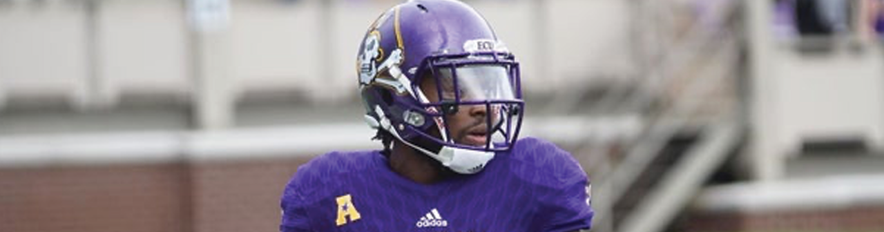 ECU Receiver Trevon Brown signs with the Cobras