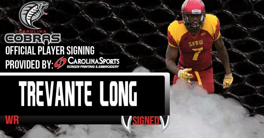 Carolina Cobras sign WR Trevante Long
